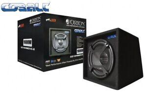 ORION CAR AUDIO 1500 WATTS AMP, SUB & BOX GROUND POUNDING SYSTEM