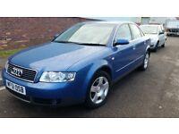 Audi 4gttdi long mot service histiry big boot leather seat cheap on tax fuel cd alloy £750ono