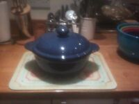 Casserole Dish with lid.