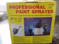 Professional paint sprayer