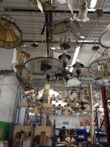 Various LIGHTS and chandeliers