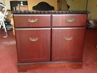 Cabinet with draws and cupboard