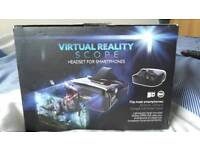 Virtual Reality Headset. Smartphone Headset.