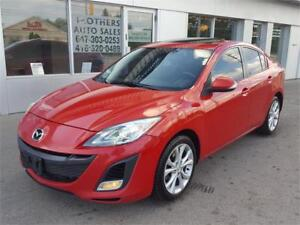 SOLD -----   2010 MAZDA3 GT SPORT /  XENONS / AUTO / 1 OWNER