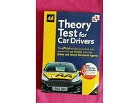AA THEORY TEST FOR CAR DRIVERS - PRACTISE QUESTIONS/ANSWERS BOOK