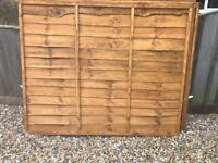 Fence panels New 5x6 still available 14/08/17