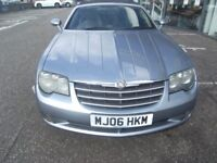 CONVERTIBLE 2006 06 CHRYSLER CROSSFIRE 3.2 V6 2d 215 BHP**** GUARANTEED FINANCE **** PART EX WELCOME