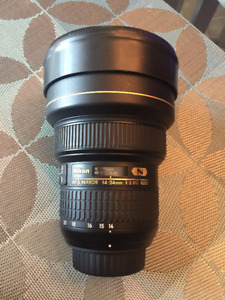 Nikon 14-24 mm F2.8 with NISI filter holder