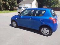 Suzuki Swift GL 3DR 1.4 Petrol Blue 2008 (58) ~LOW MILEAGE 57K~
