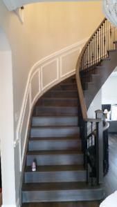 Sanding & Refinish Floors, Stairs, Stain, hardwood installation