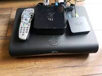 Sky+hd box and accessories