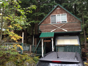 RV Lot with Finished Snowshed/Sleeping Loft - H27