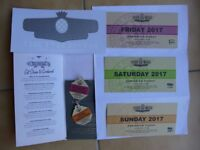 GOODWOOD REVIVAL FULL WEEKEND TICKET PACKAGE