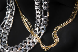 Major SALES on 925 Sterling Silver & 10k Gold Chains