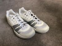 Prince ladies tennis shoes, size 5