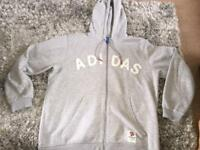 Adidas hooded top XL