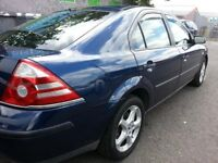 FORD MONDEO LX,,5DR HATCH BACK,,2005 REG,,1YEAR MOT,,NO ADVISORY,,GOOD CONDITION,,DRIVES WELL