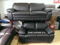 lowest price full leather sofas ever duke, bentley, supra 3+2 sofa sets recliners, chesterfields NOT