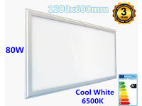New Bright 80W LED 600x1200mm Slim Panel Light Ceiling Recessed Suspended Mount Cool White