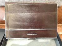 Piquadro Ipad mini leather case with Bluetooth keyboard BNIB