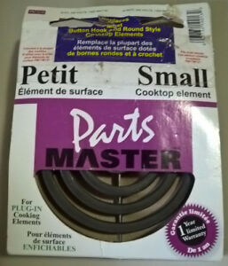 "Small Cooktop Replacement Element  6""Stove Top"