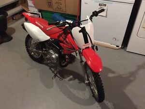 2012 HONDA CRF70 MINT CONDITION