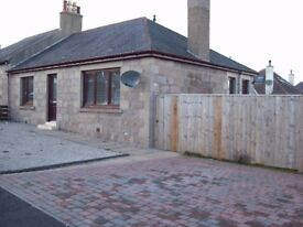 2 Bedroom Semi-Detached Bungalow, Inverurie, Large Garden, Driveway for 2 Cars, Kitchen Diner.