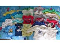 Bundle of Baby Boy Clothes - Aged 6-12 months