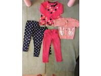 5 Piece Girls Clothes Bundle for 4 year old