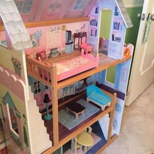 KidKraft dollhouse for Barbie or other dolls