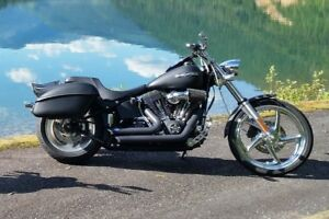 2007 Harley Davidson Softail Night Train - Fully Customized