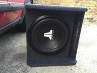 """JL Audio 12"""" Sub & Amp"""