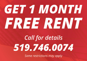 One Month FREE at 202 Lester St Unit 602