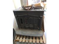 Second Hand Domestic Wood Burner