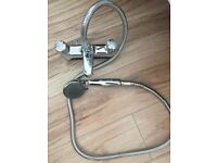 Bath mixer tap with shower head in vgc