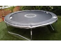 8FT SPORTSPOWER TRAMPOLINE WITH SAFETY NET