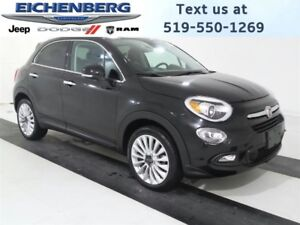 2016 Fiat 500X Lounge *HEATED LEATHER SEATS*