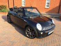 2007/57 MINI COOPER 1.6 CONVERTIBLE LOW MILEAGE SERVICE HISTORY 3 MONTHS WARRANTY
