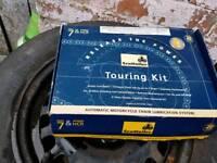 Scot oiler, oil touring kit,