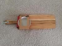 JAMIE OLIVER SERVING BOARD AND BOWL