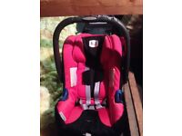 Britax First Baby Car Seat with Isofix Base. £30