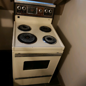 Apartment size 24 inches wide stove and fridge for sale
