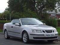 Saab 9-3 2.0 T Linear 2dr, CONVERTIBLE,3 OWNERS,FULL MOT ,FULL SERVICE HISTORY