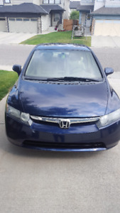 2007 Honda Civic EX Sedan inlcudes 4 winter tires w/ wheels
