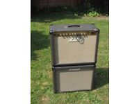 "Marshall JTM30 1x12"" valve amplifier with matching extension cabinet"