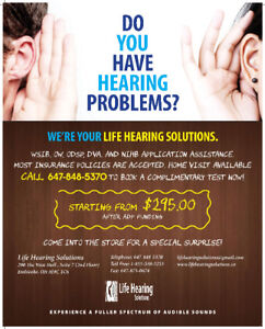 Free Hearing Test-----Do a hearing annual check today