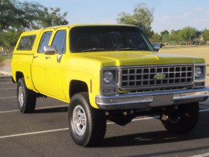 LOOKING FOR 1973 to 1991 CHEVROLET GMC K35 4X4 CREWCAB CREW CAB