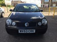 VOLKSWAGEN POLO 1.2 PETROL, CAM BELT CHANGED, FOUR NEW TYRES