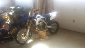 2012 yzf 450,  50 hours on bike.