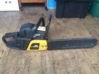 16 inch Mcculloch mac 738 chainsaw